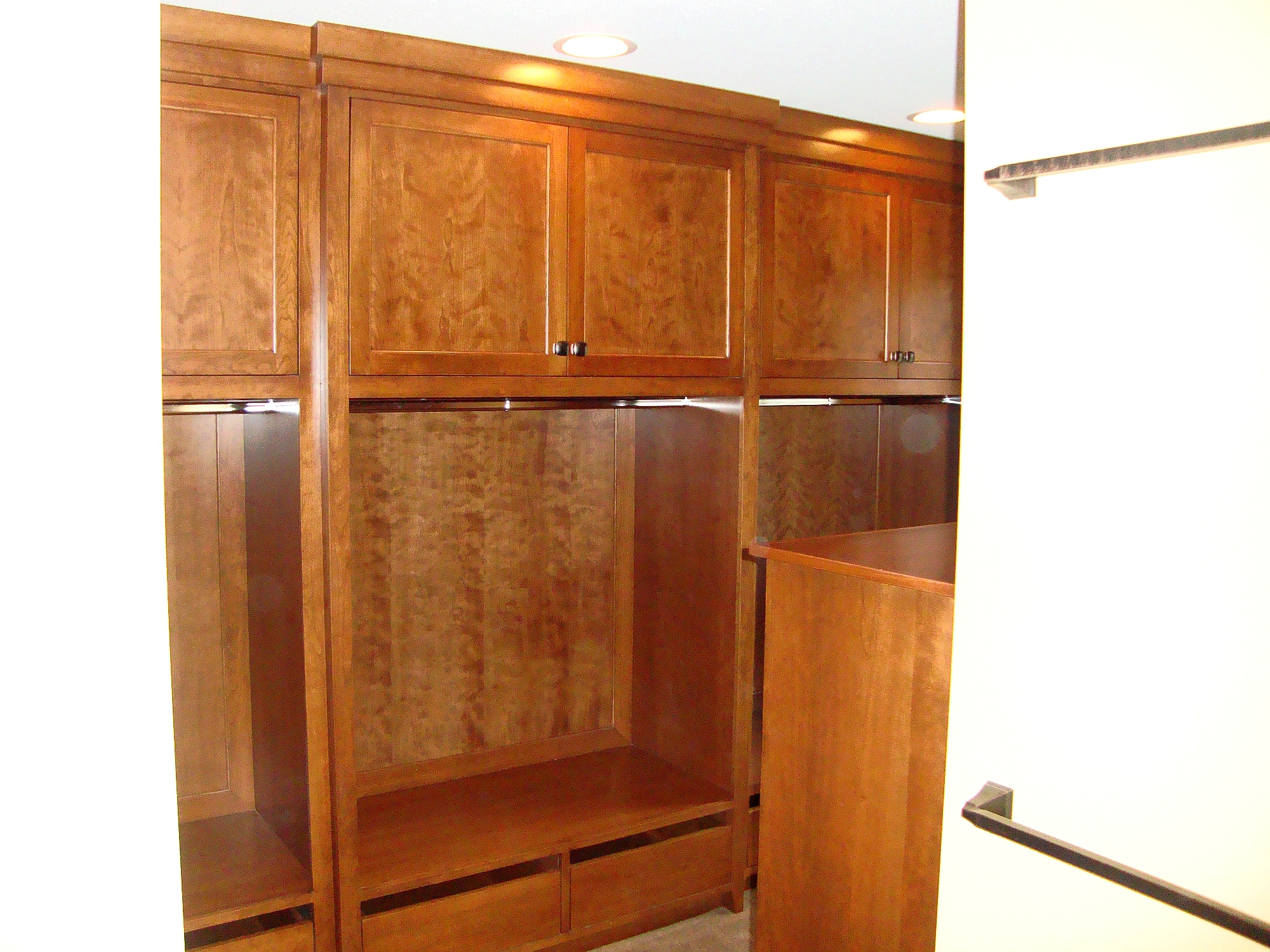 Photo highlights nerstrand custom cabinets for A 1 custom cabinets